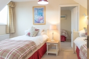 <h5>Twin Bedroom leading to Single Bedroom (Upstairs)</h5>